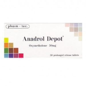 Anadrol Depo Oxymetholone x30 (20mg/tab) kaufen im Steroids Shop aus Deutschland . Online bestellen per Versand und Roids diskret mit Bitcoin oder Überweisung bezahlen. Garantiert originale anabole Steroide und Wachstumshormone sowie PCT Medis.