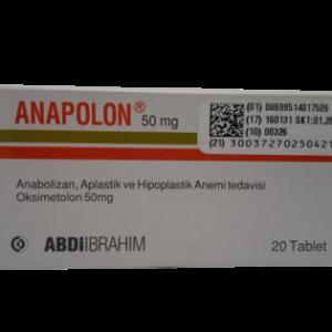 Anapolon Oxymetholone 20 Tabletten (50mg/Tab) kaufen im Steroids Shop aus Deutschland . Online bestellen per Versand und Roids diskret mit Bitcoin oder Überweisung bezahlen. Garantiert originale anabole Steroide und Wachstumshormone sowie PCT Medis.