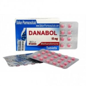 Danabol Methandienone 10 mg Balkan